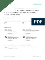 Paper Et Al. - 2016 - Kraft Lignin Depolymerisation by Base Catalysed Degradation (Bcd) - The Effect of Process