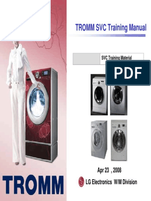 Lg-Tromm-Washing-Machine-Front-Load-Training-Manual-2008 pdf