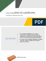 Trabajo de Unidades de Albañileria