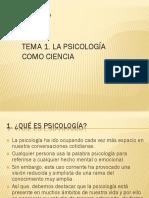 Tema 1 Psicología