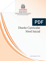 Curriculo Dominicano Del Nivel Inicial
