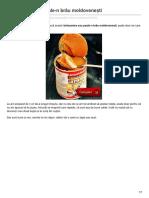 brânzoaice Sau Poale-n Brâu Moldovenești
