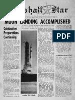 Marshall Star-Moon Landing July 23 1969