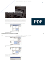 BI-Integrated Planning using BEx Query + Analysis for Office - Visual BI Solutions