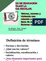 4. Valores- Normas y Violencia