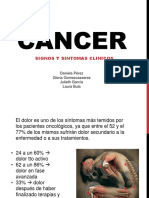Cancer Signos y Sintomas