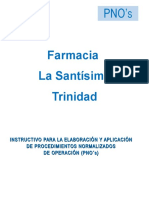 6.Instructivo Para PNO's Farmacia La Santisima Trinidad