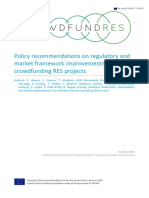 CrowdFundRES Policy Recommendations