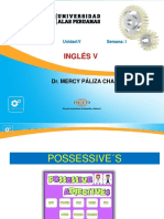 Semana 4 Possessives