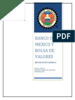 Tarea Bolsa y Banco de Mexico