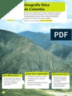 GEOGRAFIA FISICA DE COLOMBIA
