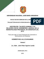 22-2015-EPAE- Inca Allcahuaman-Gertion Del Talento Huamano
