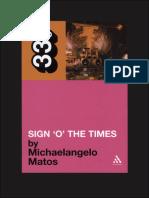 "010. Prince - Sign ""☮"" the Times (Michaelangelo Matos)"