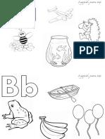 Pagini Pentru Colorat Imagini Pentru Literele a b c