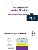 Equity Analysis and Capital Structure