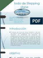 Método de Stepping Stone Ppt