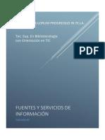 Coloquio Fuentes y servicios de información