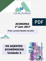Economia Unid 2 e 3 Unilavras