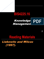BIS4225.16 - Knowledge Management.ppt