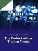 Profits Unlimited Trading Manual