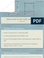 Corso Interventi Locali Murature