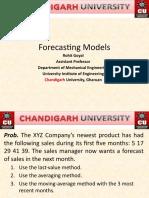 Forecasting Models[1]
