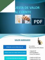 Propuesta de Valor Al Cliente