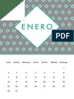 Calendario UNISEX ES