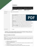 Junta Sectorial de Jueces 1 Instancia de Murcia