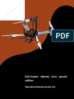 Operation Manual Erle Copter Ubuntu