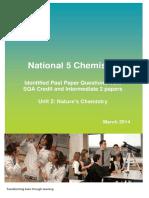 n5 Chem Unit 2 Questions