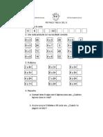 Material Entrete Multiplicaciones