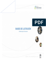 Presentacion Bases de Licitacion