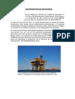Principal Planta de Produccion de Gas Natural