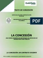 Contratación publica en proyectos de infraestructura - concesiones