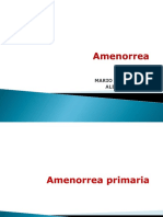 Amenorrea Prim y Secundaria UCS