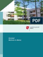 Wohnen in Mainz Konzept 2016
