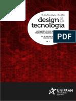Revista Design & Tecnologia 2016