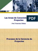 Las Areas de Conocimiento de Los Proyectos (1)