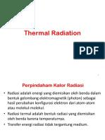 Catatan Perpindahan Kalor Dan Massa - 8 (Radiasi Thermal)