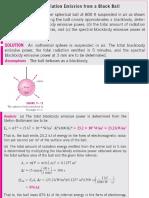 Catatan Perpindahan Kalor Dan Massa - 9 (Contoh Radiasi Thermal)
