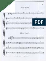 Choral No.42 e Choral No.297 Todas as Partes