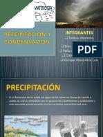 Precipitacion y Condensacion