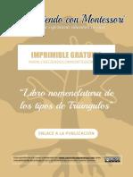 Libro de Triángulos - CreciendoConMontessori