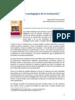 La Función Pedagógica de la Evaluación - Jorba, Jaume y S. Neus.pdf