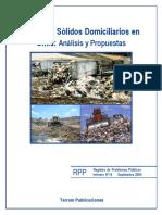 Residuos Sólidos Domiciliarios en Chile (II)