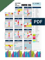 Kalender 2017-Kokurikulum
