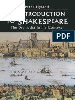 An Introduction to Shakespeare_ the Dramatist in His Context-Macmillan Education UK (1996)