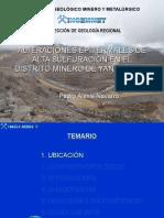 alteracionesepitermalesdealtasulfuracineneldistritodeyanacocha-120411094429-phpapp02.ppt