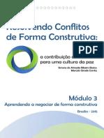 RCFC Módulo 3 - Aprendendo a Negociar de Forma Construtiva